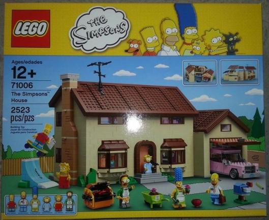 Lego Simpson 71006